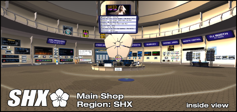 SHX Main Store - inside view